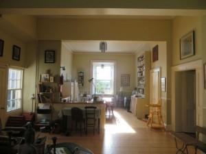 Adamnan Living room garden end
