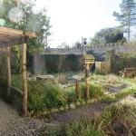 Adamnan lodge garden