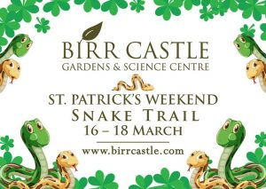 St Patricks Weekend - Snake Trail at Birr Castle