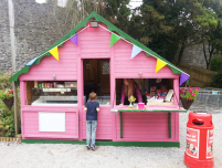 Playground kiosk at Birr Castle