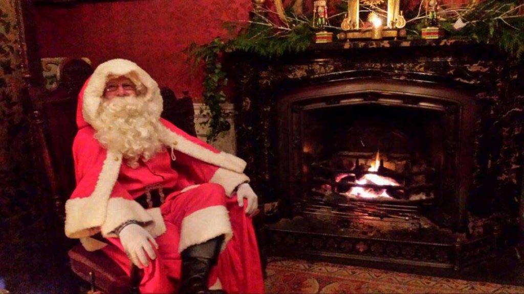 Santa at Birr Castle