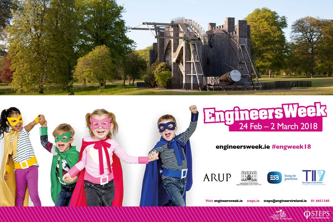 Birr Castle Education - Engineers Week Ireland Events 2018