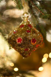 Christmas bauble Birr Castle